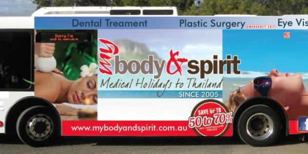 Plastic surgery holidays advertising